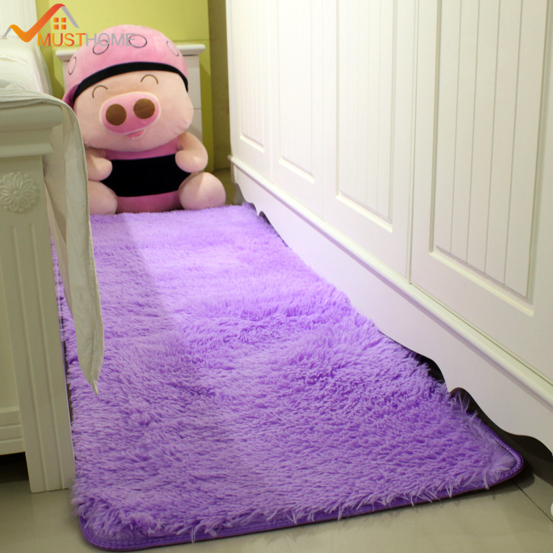 Throw Rugs In Bedroom: Shaggy Home Throw Rugs For Bedroom 50*120cm/19.68*47.24in