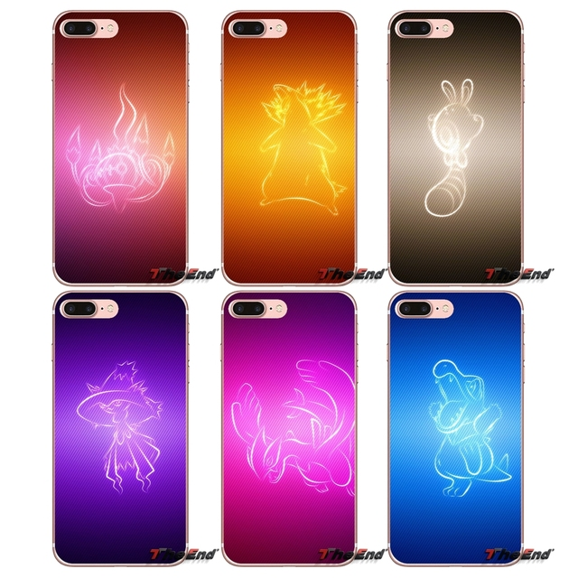 Vector Wallpaper Pokemon Cell Phone Covers For Iphone X 4 4s 5 5s 5c