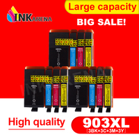 INKARENA 3 Pack Compatible ink for HP 903 903XL 907XL Ink Cartridge OfficeJet Pro 6950 6960 6961 6970 6971 All in One Printer
