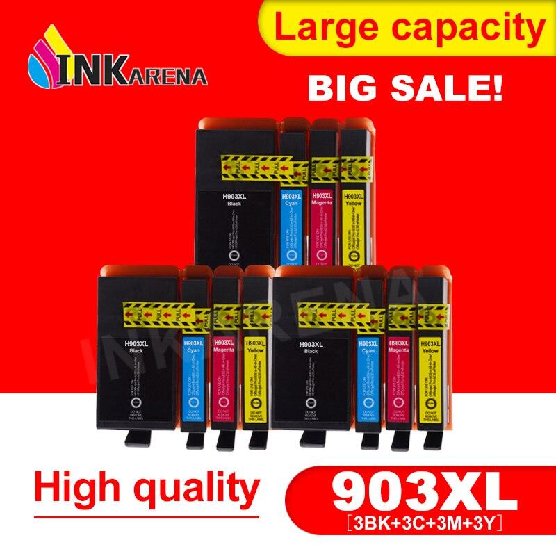 INKARENA 3 Pack dencre Compatible pour HP 903 903XL 907XL Cartouche Dencre OfficeJet Pro 6950 6960 6961 6970 6971 Imprimante tout-en-UnINKARENA 3 Pack dencre Compatible pour HP 903 903XL 907XL Cartouche Dencre OfficeJet Pro 6950 6960 6961 6970 6971 Imprimante tout-en-Un