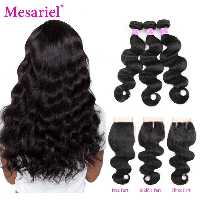 Mesariel Body Wave Bundles With