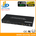 Venda quente 4 em 1 HDMI Quad Multi-Viewer com Perfeita Caixa de Interruptor Switcher Sinal de Áudio e Vídeo Switcher Splitter 4 Way Selector