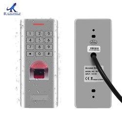 Lector de huella digital biométrico con Control de acceso de huella dactilar para exteriores a prueba de agua IP66 con salida Wiegand 26