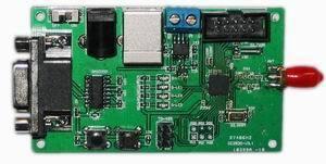 Бесплатная доставка ZigBee обучения развития борту модуль cc2530 232 + 485 Скачать интерфейс кнопка led отправить через весь исходный код