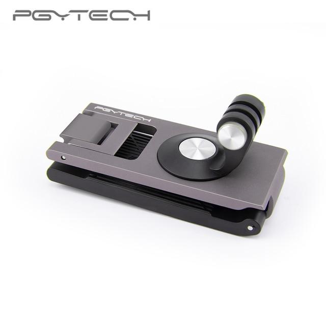 W magazynie PGYTECH dla DJI OMSO Pocket 2 Action Camera pasek uchwyt L uchwyt obrotowy uchwyt do OSMO Action Handheld Gimbal