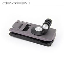 在庫pgytech dji omsoポケット2アクションカメラストラップホルダーlブラケット回転osmoアクション用ハンドヘルドジンバル