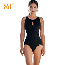 361 Sexy Women Swimwear Triangle One Piece Swimsuit Black Sports Push Up Swimming Suit Girls Pool Bathing Suits