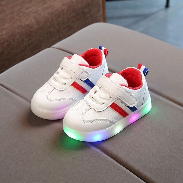 Male and Female Leather Sneaker for Kids