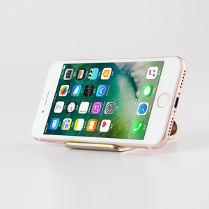 Image 2 - 모바일 지원 전화 홀더 금속 스탠드 알루미늄 합금 애플 아이폰 11 12 프로 최대 미니 7 8 6 6S 플러스 브래킷 데스크탑 케이스