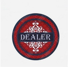 1pcs Premium Ceramics Dealer 20 Gram Gem Pattern Texas Hold'em Poker Gambling Casino Chip Wholesale