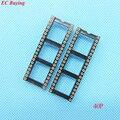 12 pcs Rodada Buraco 40Pin 2.54 MM DIP IC Soquete Adaptador de Solda Tipo de Conector IC (Se você precisar de outro quantidade, por favor entre em contato conosco)