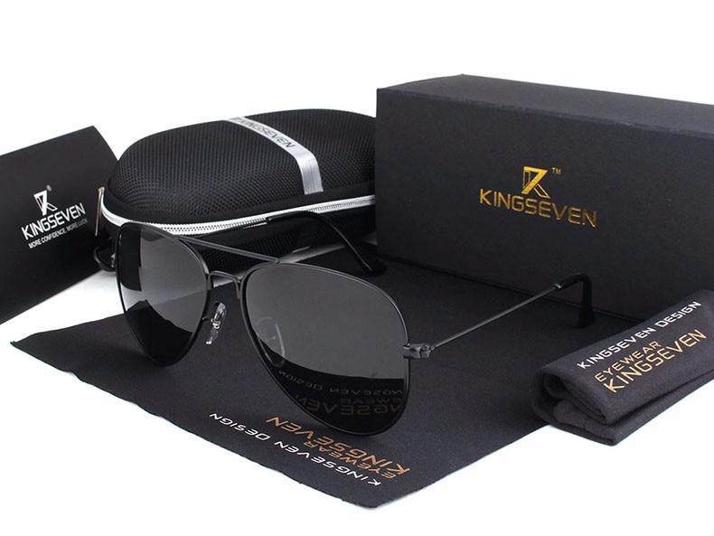 58mm Retro Sunglasses Women Kingseven Luxury Brand Female Sun glasses For Women 16 Fashion Oculos Designer Shades Unisex 3025 6