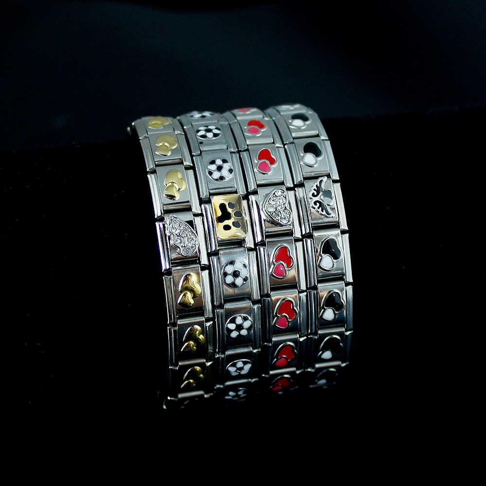 Bransoletki dla kobiet akcesoria biżuteria list Charm bransoletki łańcuchowe bransoletki Angel Snowflake 2019 moda biżuteria ze stali nierdzewnej