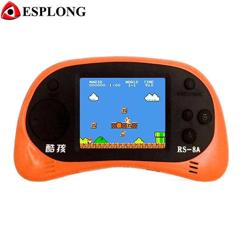 2 5 inch TFT Display Handheld Video Game Console 8 bit Game Player Built in 260