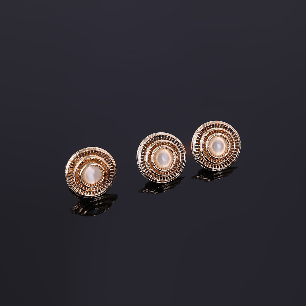 Necklace Earrings Ear Studs Bracelet Ring Banquet Fashion Wedding Jewelry Set