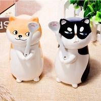 cute-aniamal-siberian-husky-and-shiba-inu-ceramics-mugs-couple-kids-breakfast-cups-pet-dog-cat-mug-office-milk-coffee-tea-cup