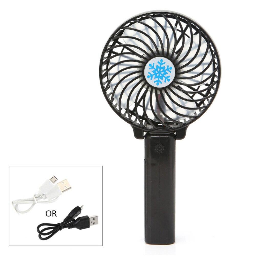 MEXI Foldable Hand Fans Battery Operated Rechargeable Handheld Mini Fan Electric Personal Fans Hand Bar Desktop Fan