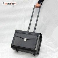 Обновлен cabin Чемодан, стюардессы, коммерческих сумка для ноутбука, унисекс пароль дорожные чемоданы, чашку Роллинг ручной клади