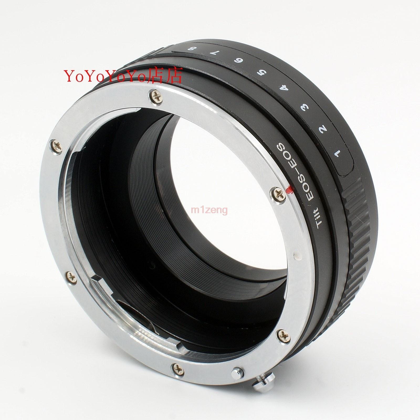 Macro d'inclinaison bague d'adaptation d'objectif pour canon ef lentille à 5d3 5d4 6d 7d 7dii 60d 70d 550d 600d 650d 760d 1100d caméra