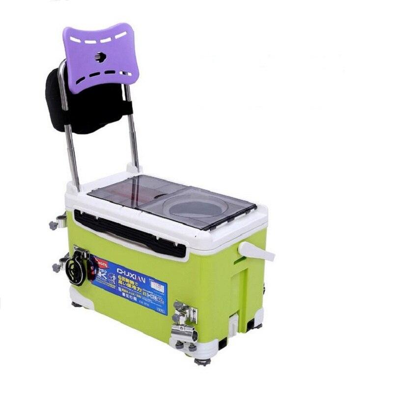 36 L Multifunction fishing box,adjust chair height,ultra ...