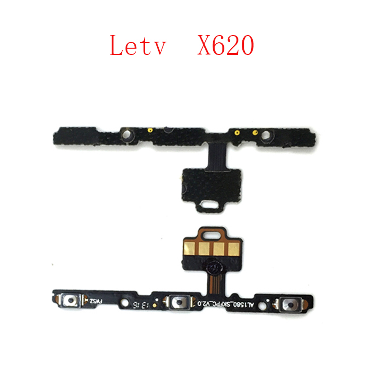 1PCS Power On/off + Volume Button Keypad Flex Cable Ribbon For Letv LeEco Le2 X620