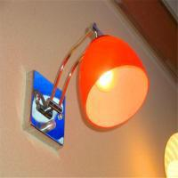 American Village Hotel bar glass wall lamp suitable for living room hallway bedroom home and other places