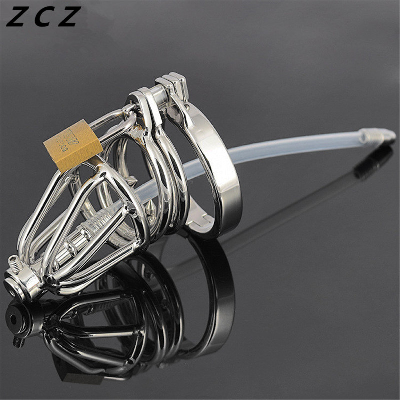 ФОТО ZCZ Anti-off ring Urethral catheters for men penis plug urethral sound stimulate masturbation man toys sex products toy WQ750-3