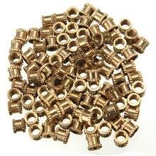 Knurl (od) резьбовые метрической орехи гайки круглой вставить латунь формы шт./лот