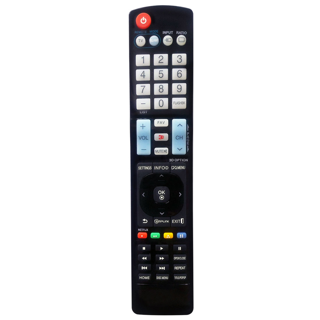 NEW LG TV Universal Remote For AKB72915206 AKB72915238 AKB72915252
