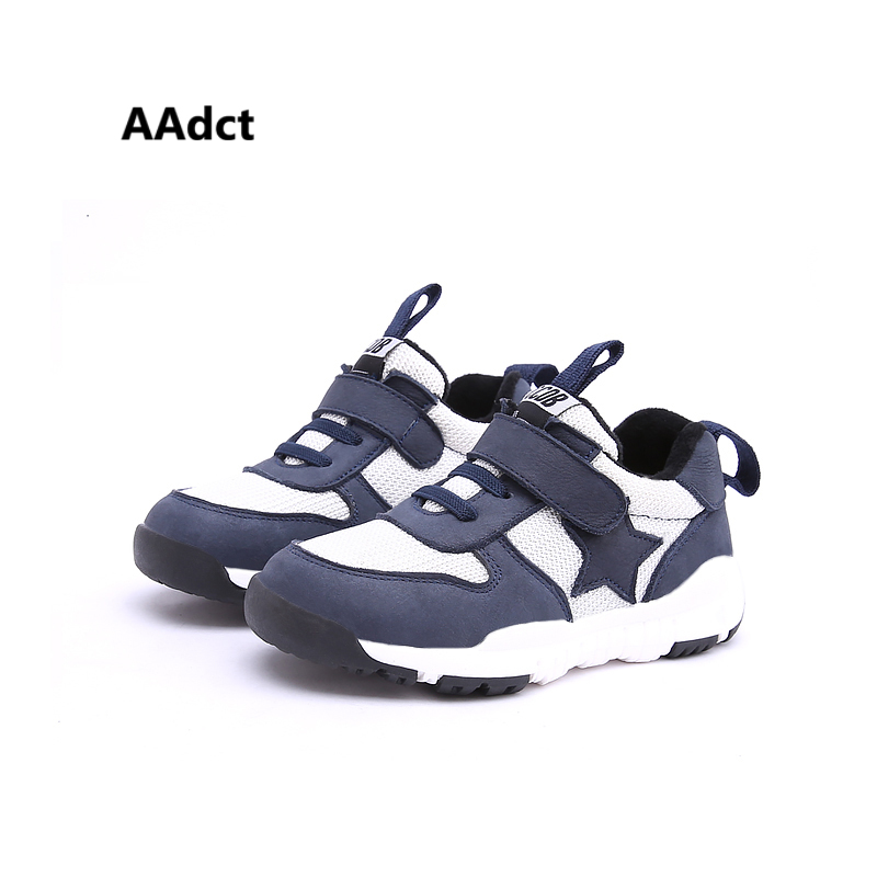 AAdct new Fashionable Sports boys shoes Breathable Autumn sneakers Children shoes for girls High quality kids shoes cotton warm