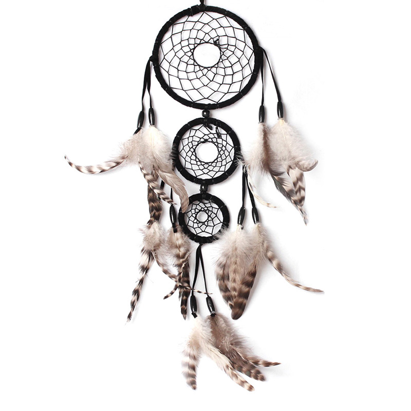 dreamcatcher wolves feathers white - photo #14