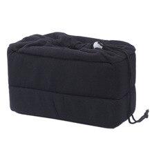 Профессиональный Новый противоударный DSLR SLR Камера сумка раздела Мягкий Камера вставка, сделать свой собственный Камера сумка (черный)