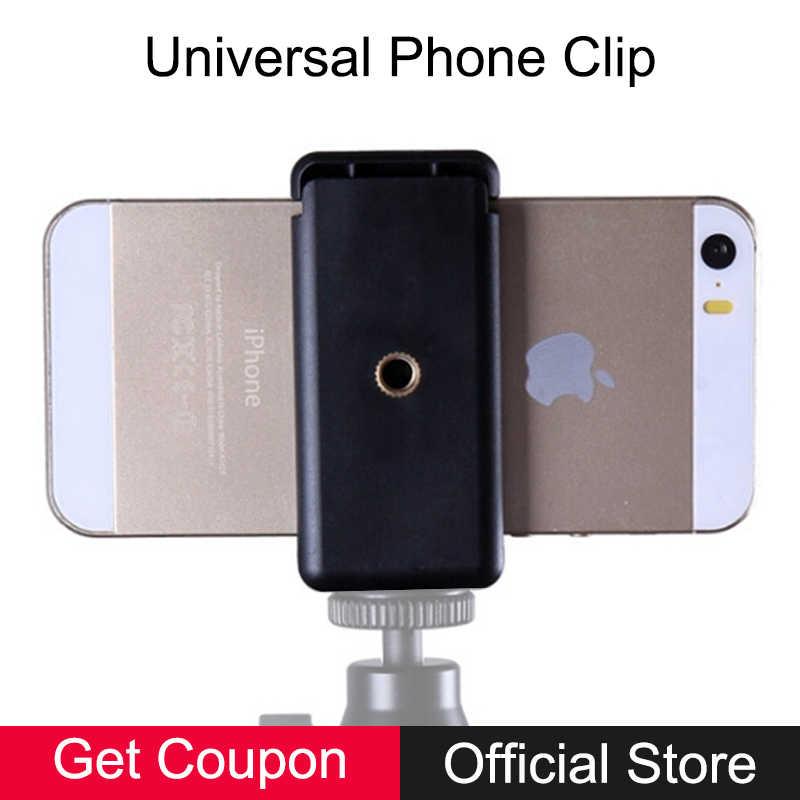 Сотовый телефон зажим-держатель Стенд кронштейн адаптер для iPhone Android  смартфон штатив монопод селфи палка fc6549d511b