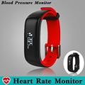 Mergulho moda Tela de Toque Inteligente Pulseira Banda Pulseira De Fitness Rastreador Pedômetro Heart Rate Monitor de Pressão Arterial Não Fitbit
