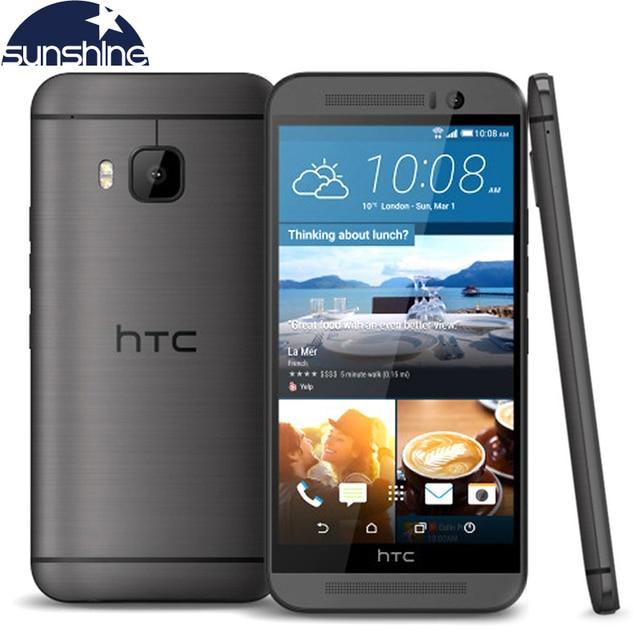 """Оригинальный разблокирована HTC One M9 4 г LTE мобильный телефон 5.0 """"20.0 МП Octa core 3 ГБ оперативной памяти 32 ГБ ROM Snapdragon 810 Android-смартфон"""