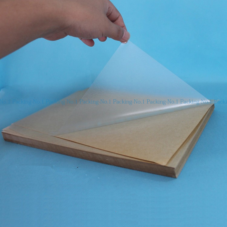 100 Sheets A4 Self Adhesive Blank Clear Plastic Pvc Label