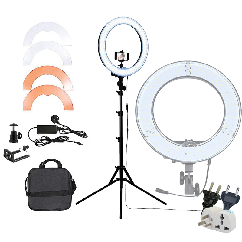 Yuguang Photography Lighting RL 12 12 180 LED Camera Ring Light Video Photo Panel Lamp CRI