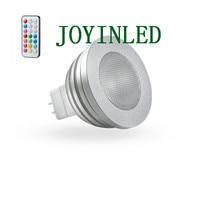 4 w mr16 rgb led lamp licht 16 kleur rgb veranderende lamp spot met afstandsbediening voor home party free verzending