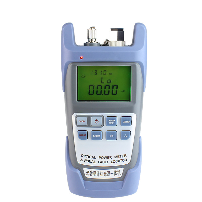 2 IN 1 Fiber Optic Power meter with 5km Laser source Visual Fault locator 9A-1mw