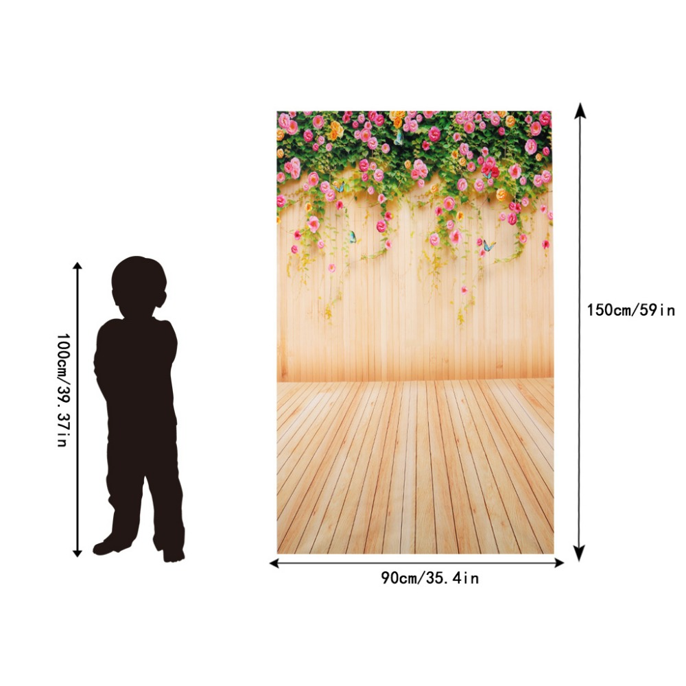 3x5ft flower wood wall vinyl background photography photo props studio backdrop in background from consumer electronics on aliexpress com alibaba group