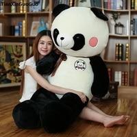 Новый Стиль Огромный 150 см и ни в коем случае Panda Плюшевые игрушки Мягкая кукла обниматься подарок на день рождения s0753