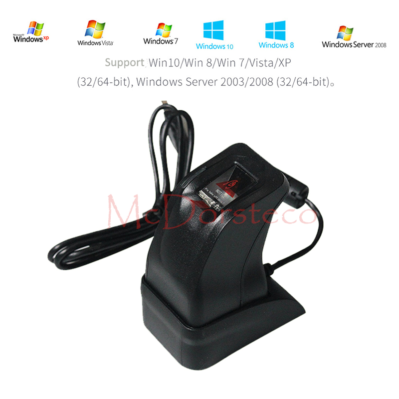 Wholesale USB Fingerprint Reader Scanner Sensor ZK4500 for Computer PC Home and Office Fingerprint Register time attendance