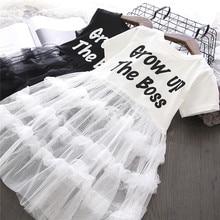 Summer girls tutu dress Baby dress kids