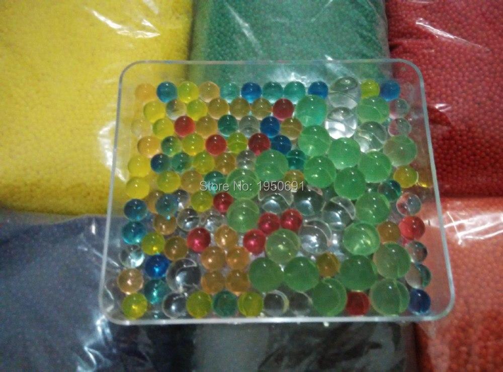 10 kg 15mm gros Orbeez (12 couleurs au choix). perles d'eau Bio Gel spitball. cristal eau paintball. perles d'eau. boules de gelée magique d11 - 2
