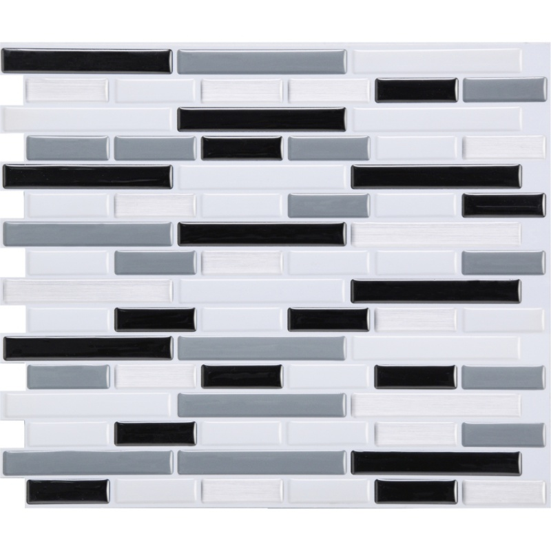 Self Adhesive Mosaic Tile Wall decal Sticker DIY Kitchen Bathroom Home Decor 2018 Hot Sale