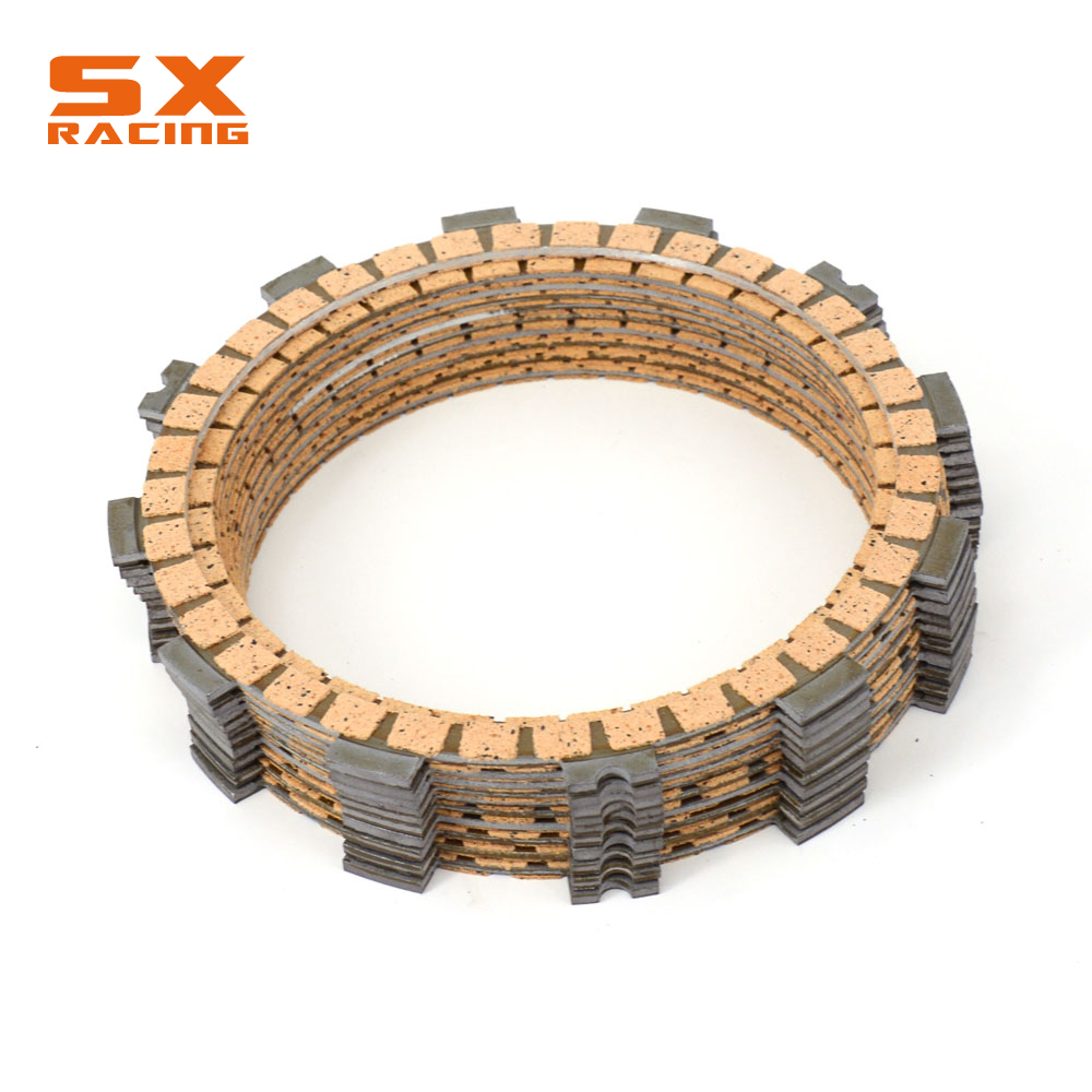 Motorcycle Engine Set Clutch Friction Disc For SUZUKI GSX-R1000 GSXR1000 2005 2006 2007 2008 2005-2008 Dirt Bike