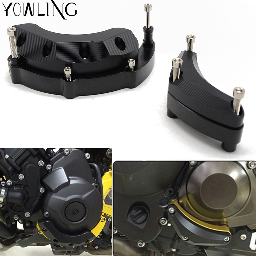 For YAMAHA MT-09 MT09 MT 09 2014-2017 Motorcycle Engine Guard Case Slider Cover Protector FJ-09 MT09 Tracer 900 XSR900 2016 2017