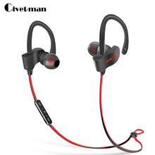 Civetman S2 Sport Bluetooth Headset Waterproof Headphones BT4.1 Music Mic Control Wireless Earphones For Mobile Phone Tablet