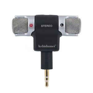 Image 1 - ميكروفون ستيريو رقمي صغير محمول عالي الجودة لتسجيل كاميرا الكمبيوتر المحمول MD