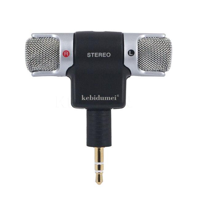 ميكروفون ستيريو رقمي صغير محمول عالي الجودة لتسجيل كاميرا الكمبيوتر المحمول MD
